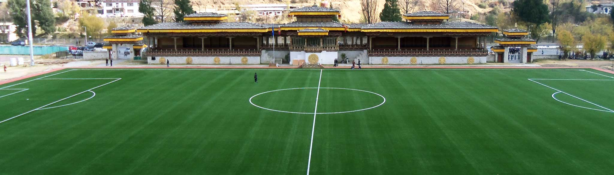 Bhutan Football Grounds Acosa Sports Infrastructure Services