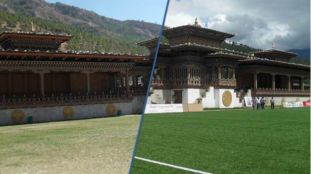 Bhutan Football Grounds